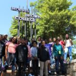 Ile Omode students visiting Morris Brown College