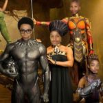 Middle school students in computer tech class envisioned themselves in Wakanda