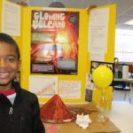 Jace and his volcano project