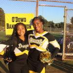 Nyhiri and Selma at a recent football game