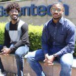 Khukheper and Bakare Awakoaiye interning at Genentech